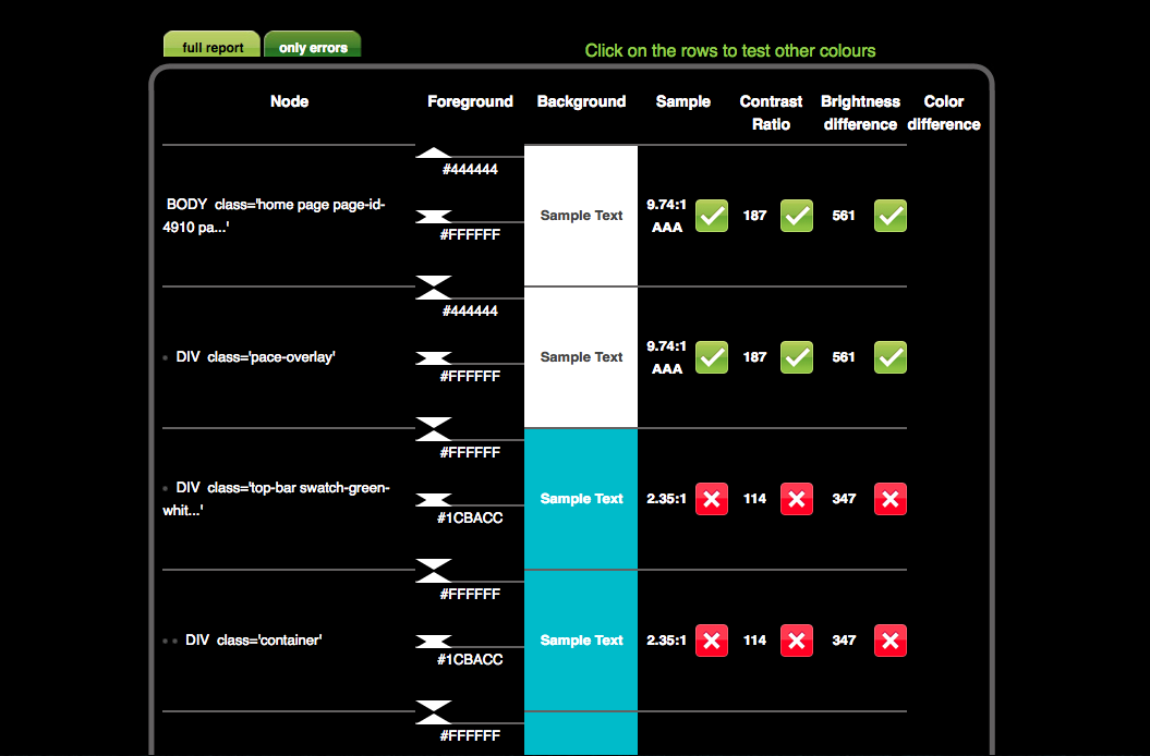 Check My Colors