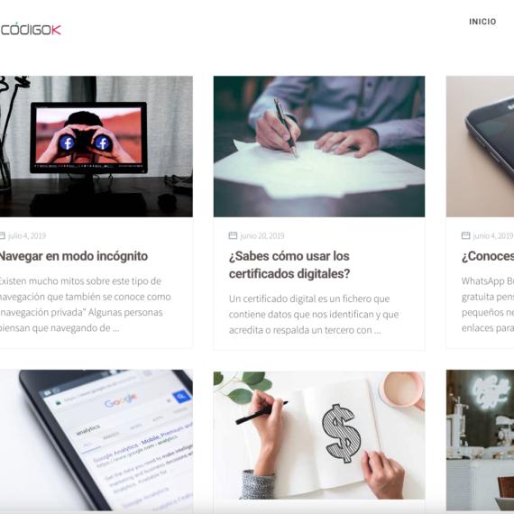 Blog codigok