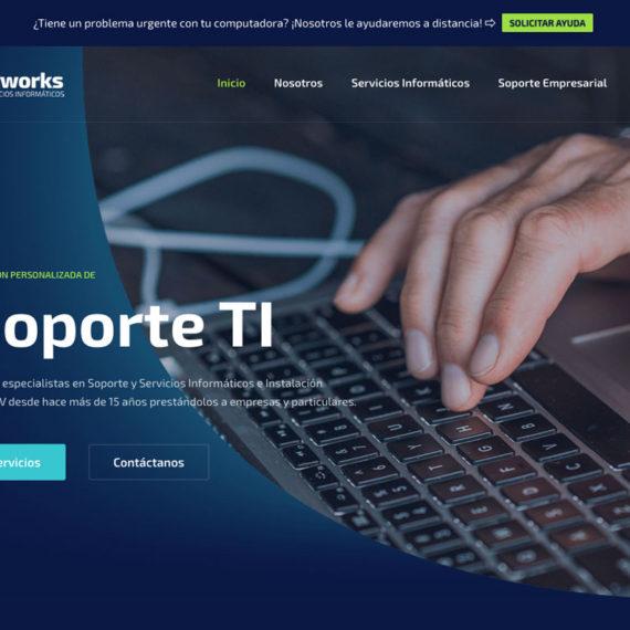 Diseño web servicios informaticos