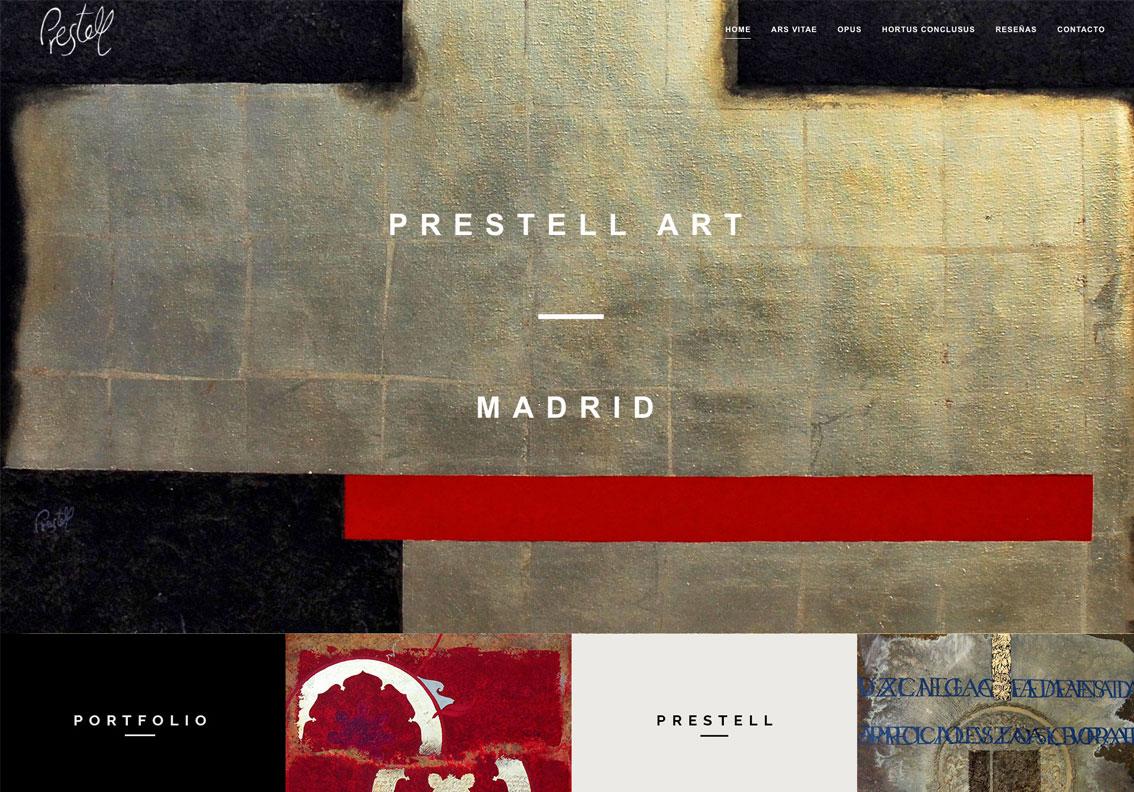 pagina web de artistas