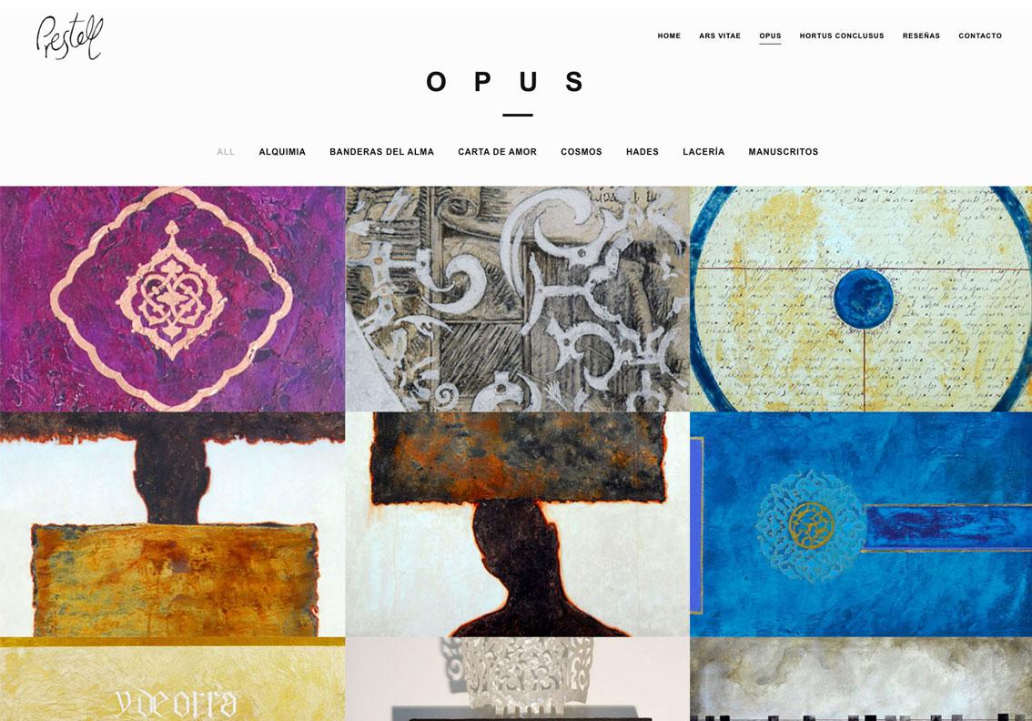 mejores web de artistas